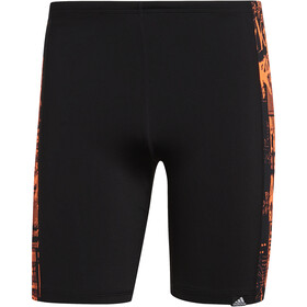 adidas Pro Placed Print Swimming Jammers Men black/white